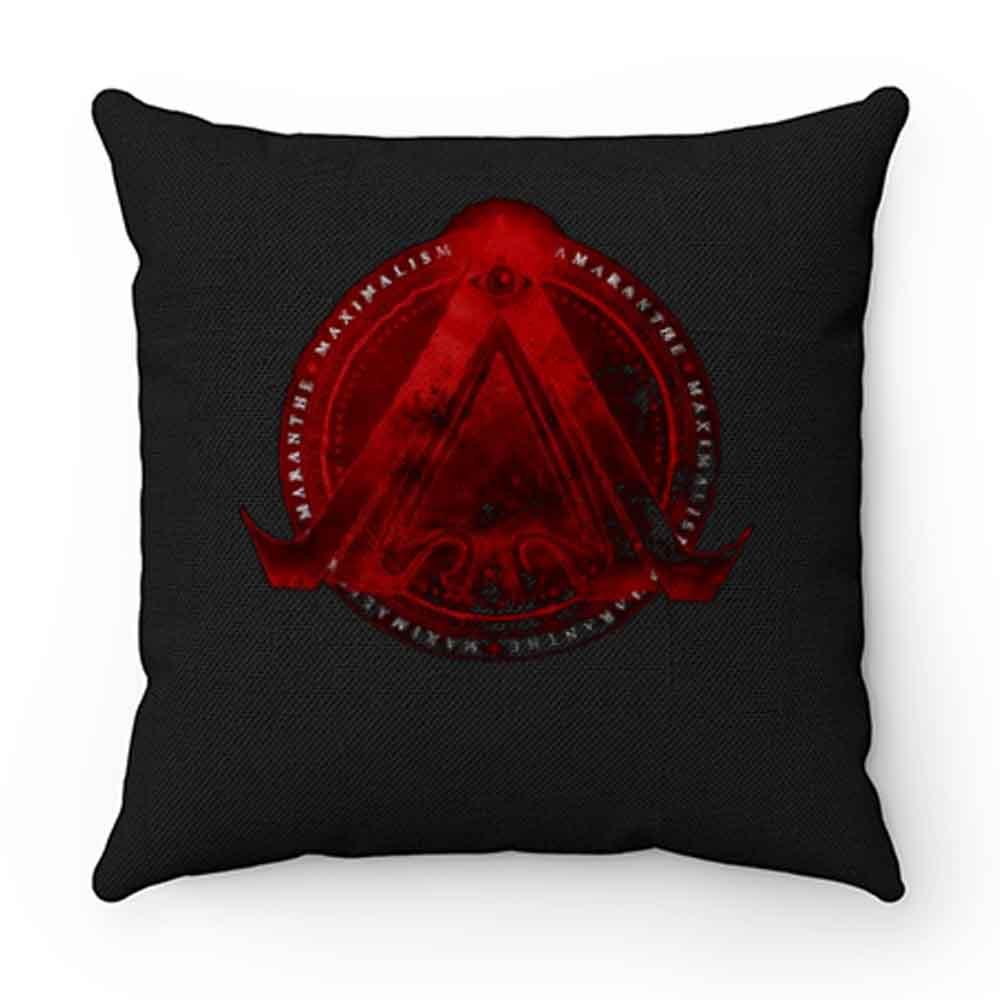 AMARANTHE MAXIMALISM METAL POWER METAL Pillow Case Cover