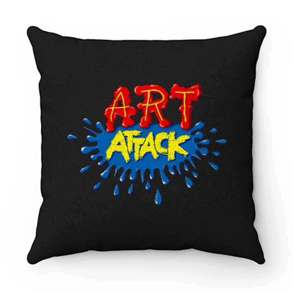 ART ATTACK Pillow Case Cover