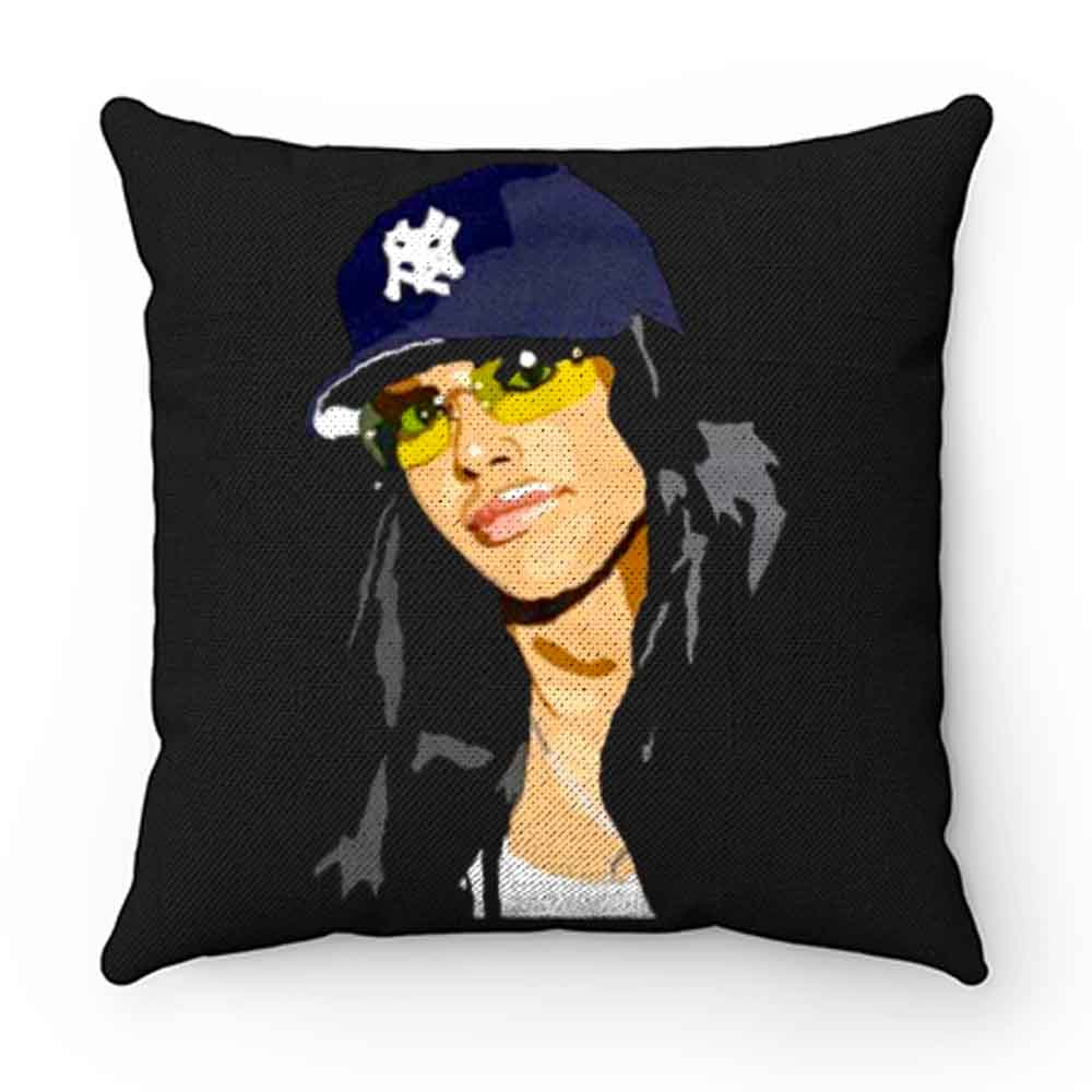 Aaliyah New York Trucker Caps Pillow Case Cover