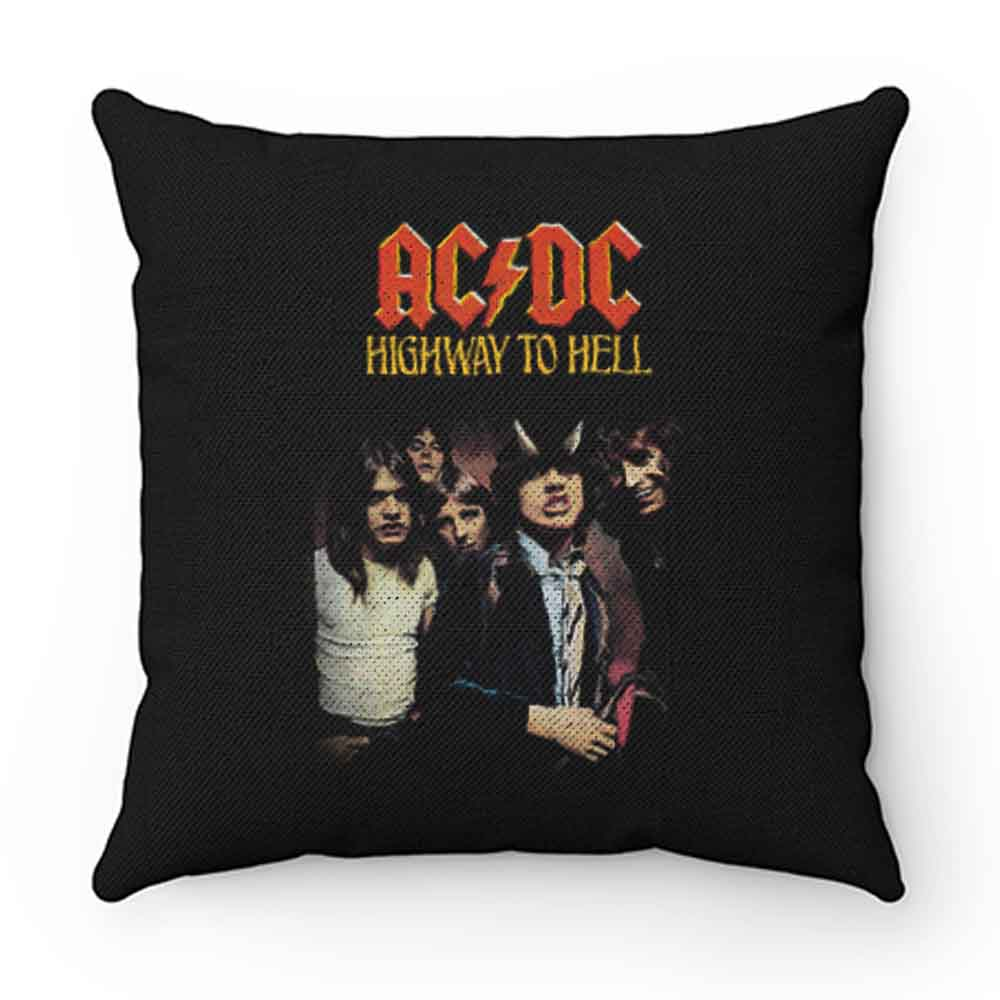 Ac Dc Highway To Hell Pillow Case Cover