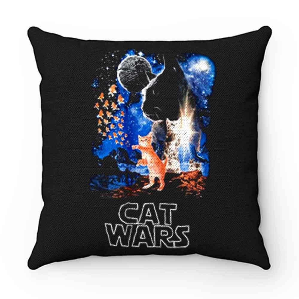 Adult Humor Cat Wars Parody Star Wars Pillow Case Cover