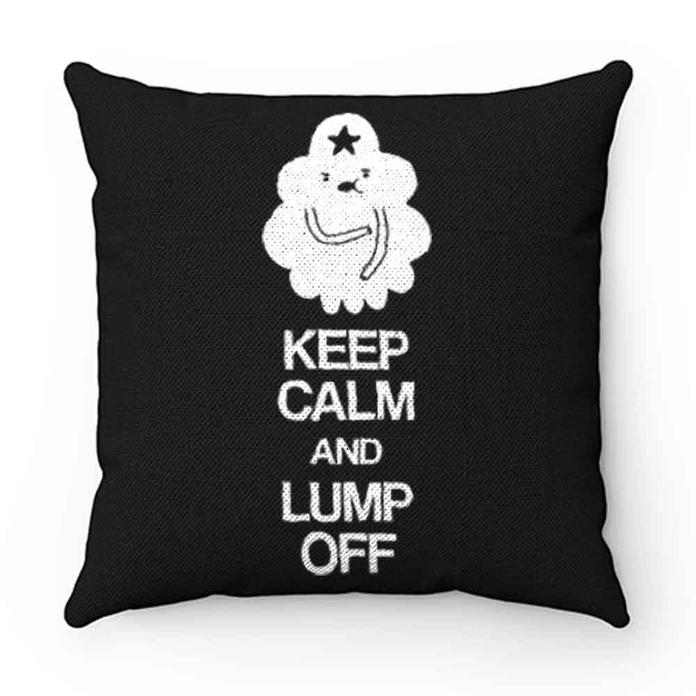 Adventure Time Keep Calm And Lump Of Pillow Case Cover