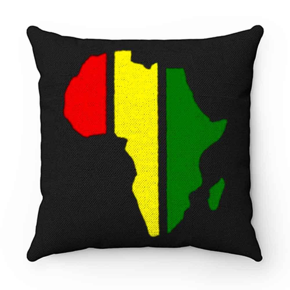 African Rasta Rastafarian or Reggae Pillow Case Cover