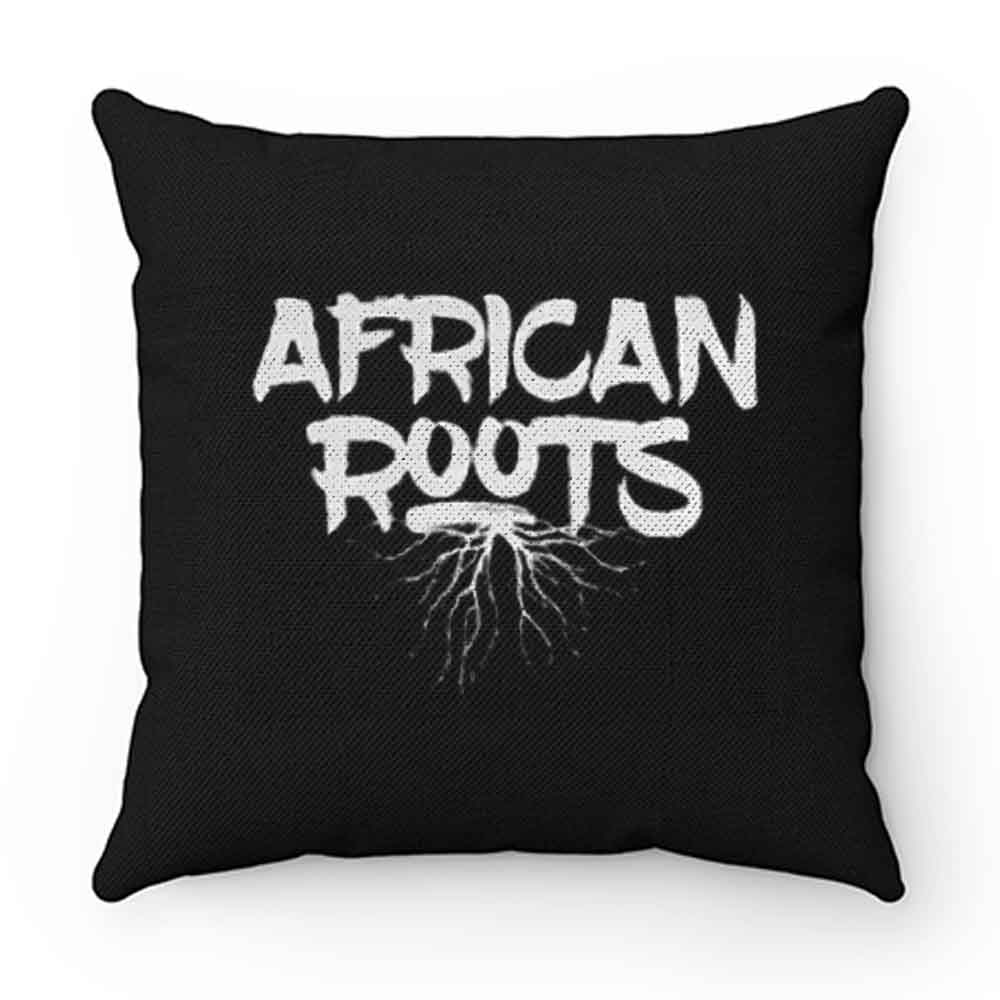 African Roots Pillow Case Cover