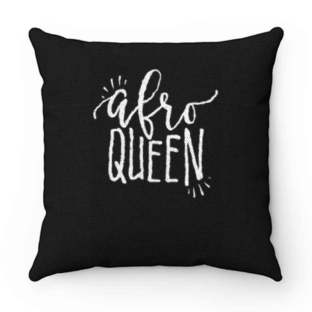 Afro Queen Pillow Case Cover