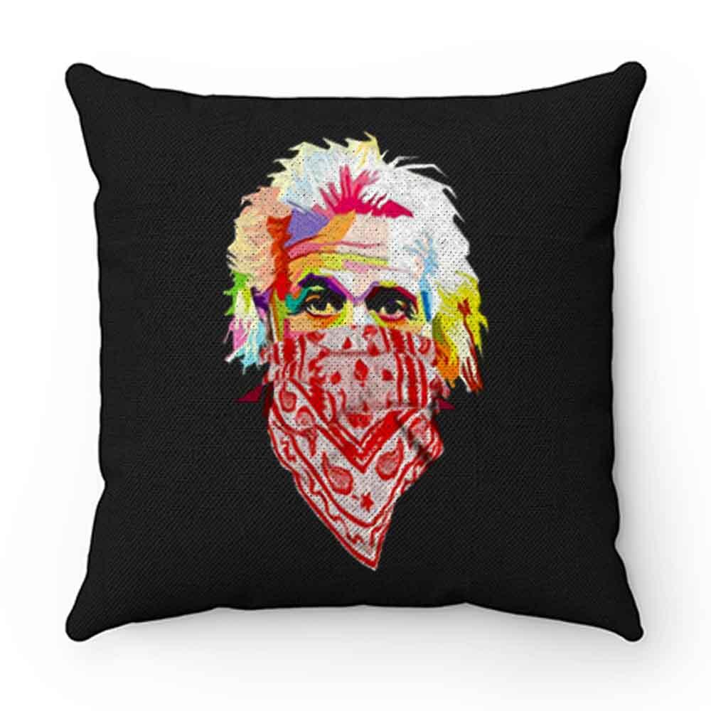 Albert Einstein Bandana Pillow Case Cover