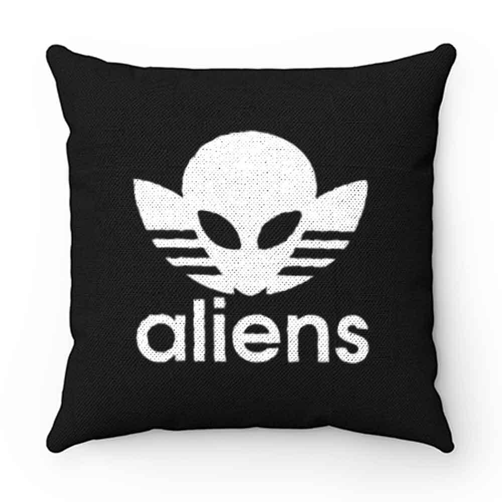 Aliens Logo Humorous Pillow Case Cover