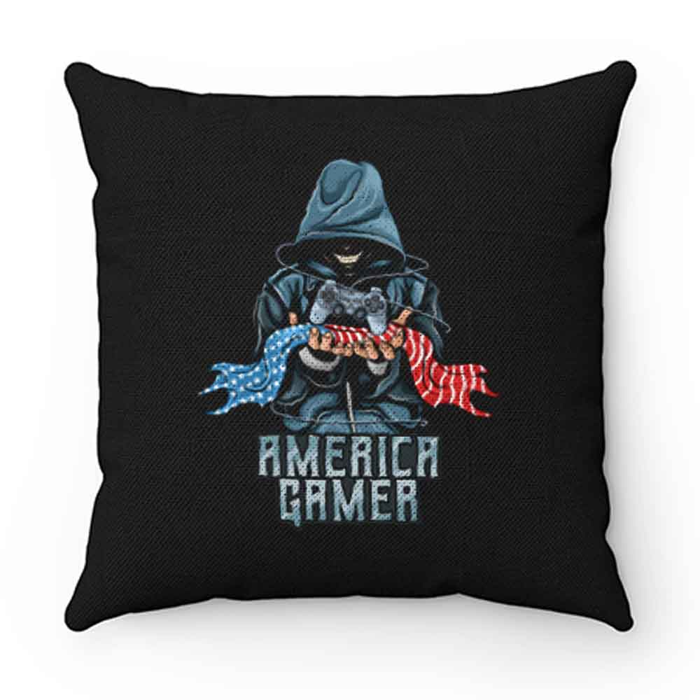 American Gamer Pillow Case Cover