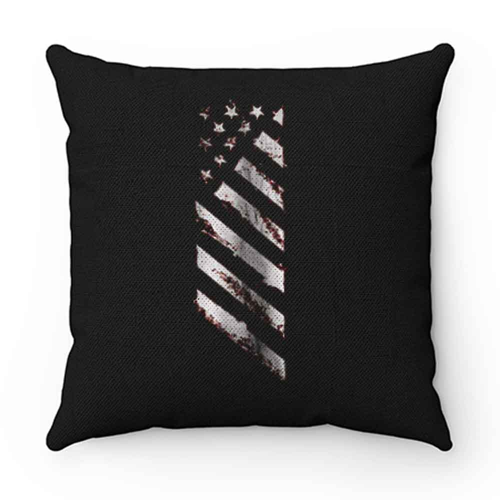 American Line Patriotic Usa Flag Pillow Case Cover