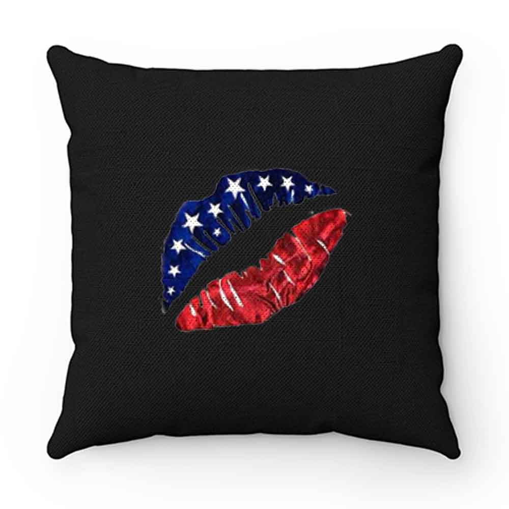American Lips Pillow Case Cover