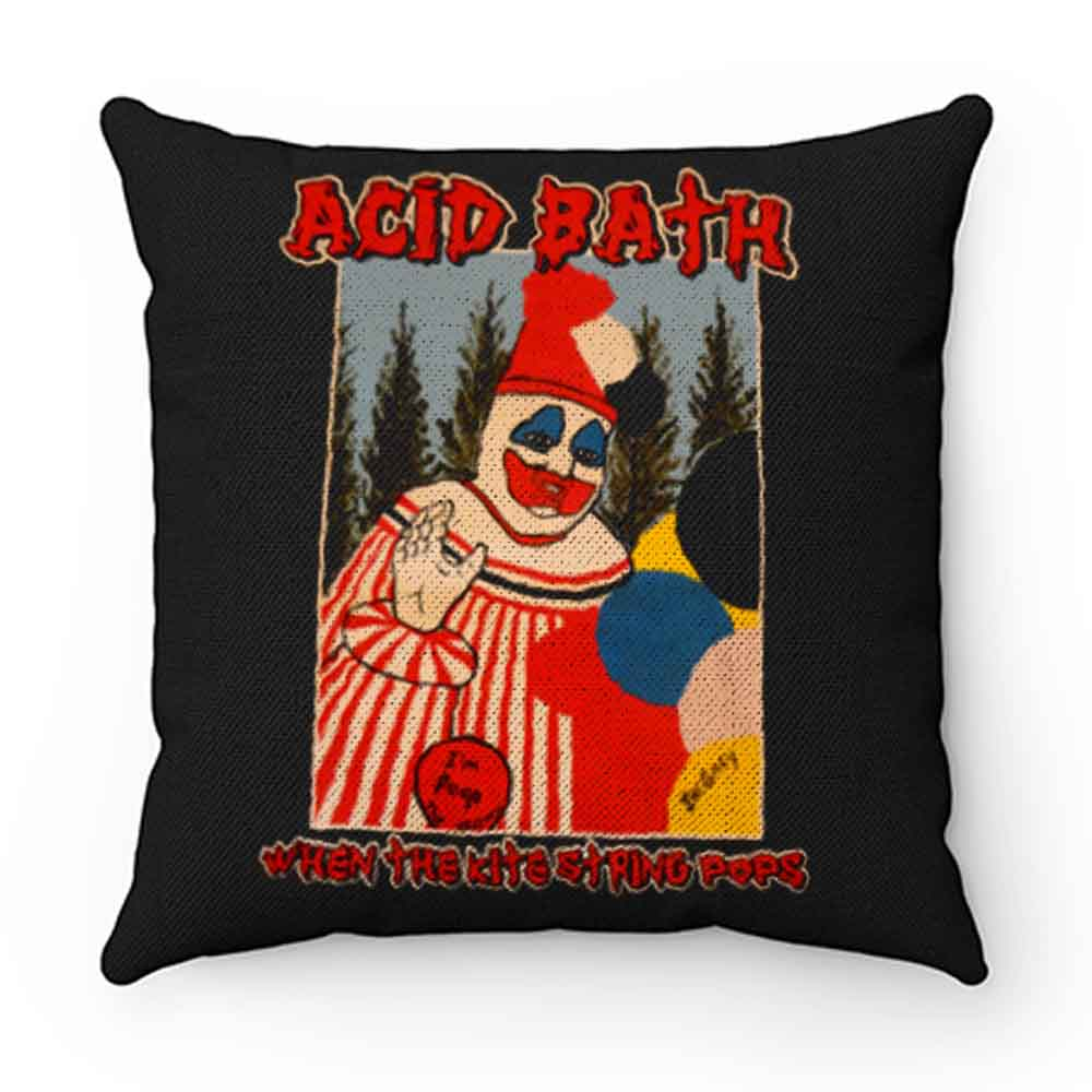 American Metal Band ACID BATH When The Kite String Pillow Case Cover