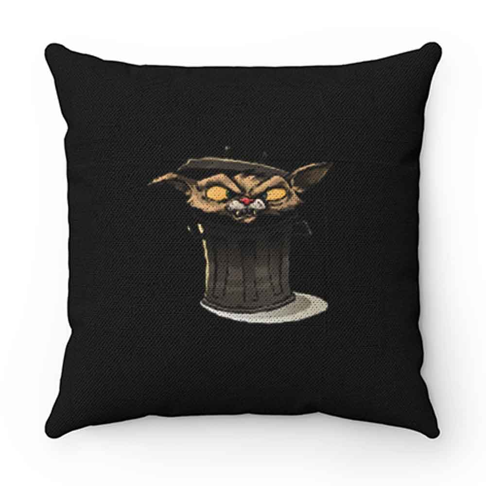Angry Cat In Trash Pillow Case Cover