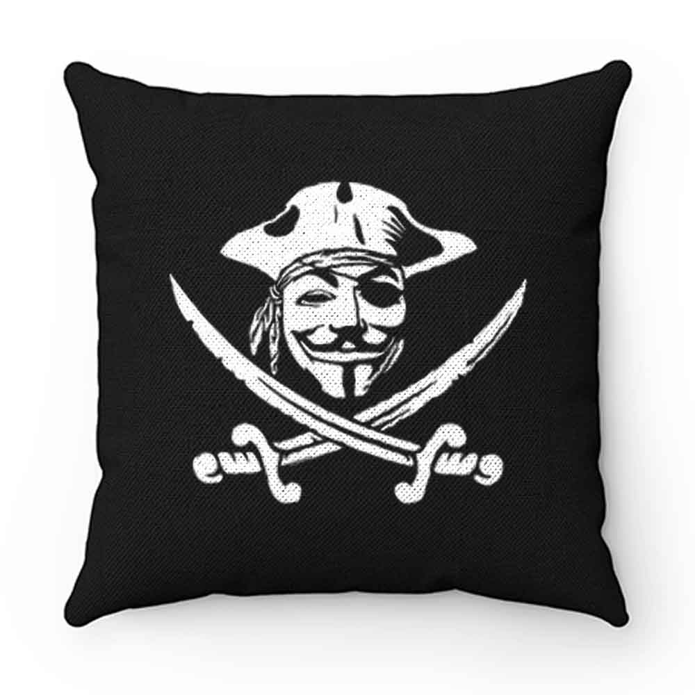 Anonymous Pirate Pillow Case Cover