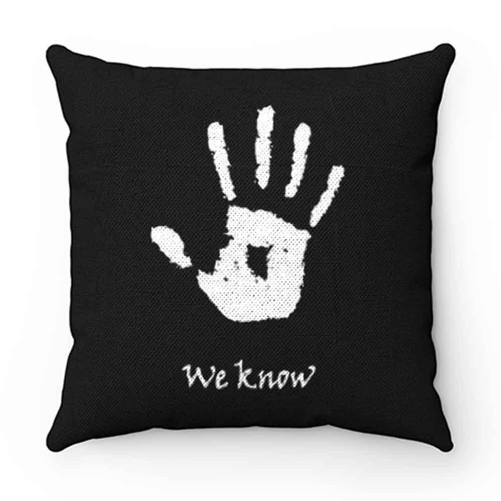 Assassins guild Dark brotherhood We Know hand Pillow Case Cover