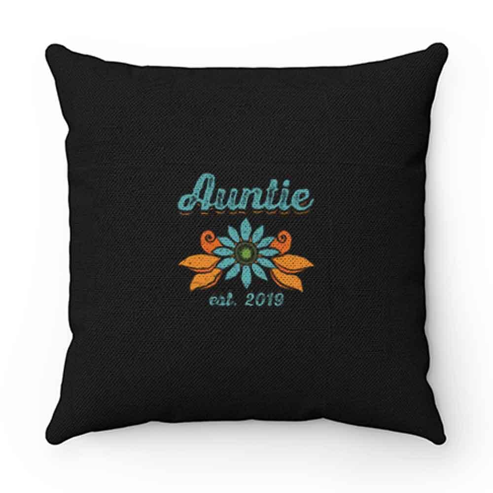 Auntie Est. 2019 Pillow Case Cover