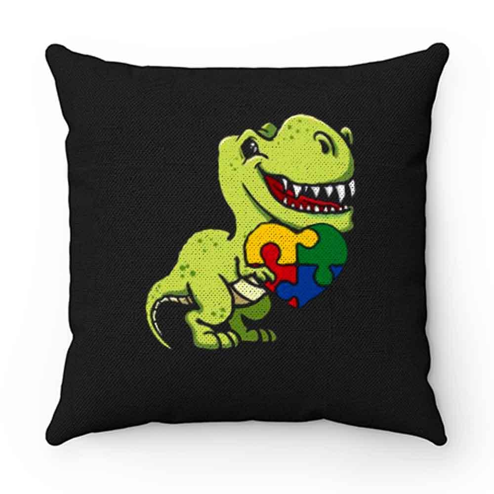 Autism Dinosaur Autism Awareness Autism Pillow Case Cover