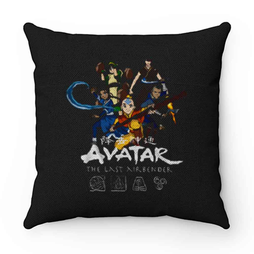 Avatar The Last Airbinder Group Pillow Case Cover