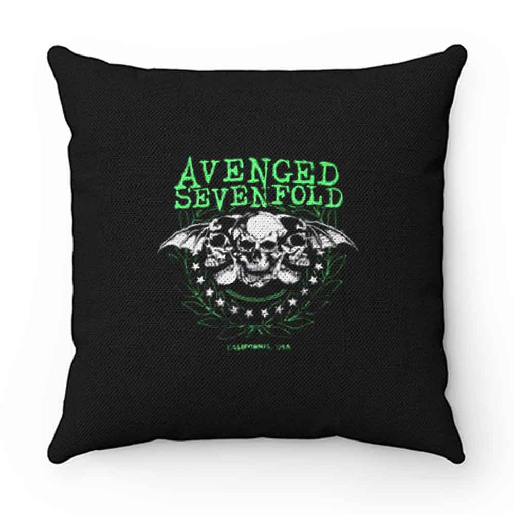 Avenged Sevenfold Punk Rock Band Pillow Case Cover