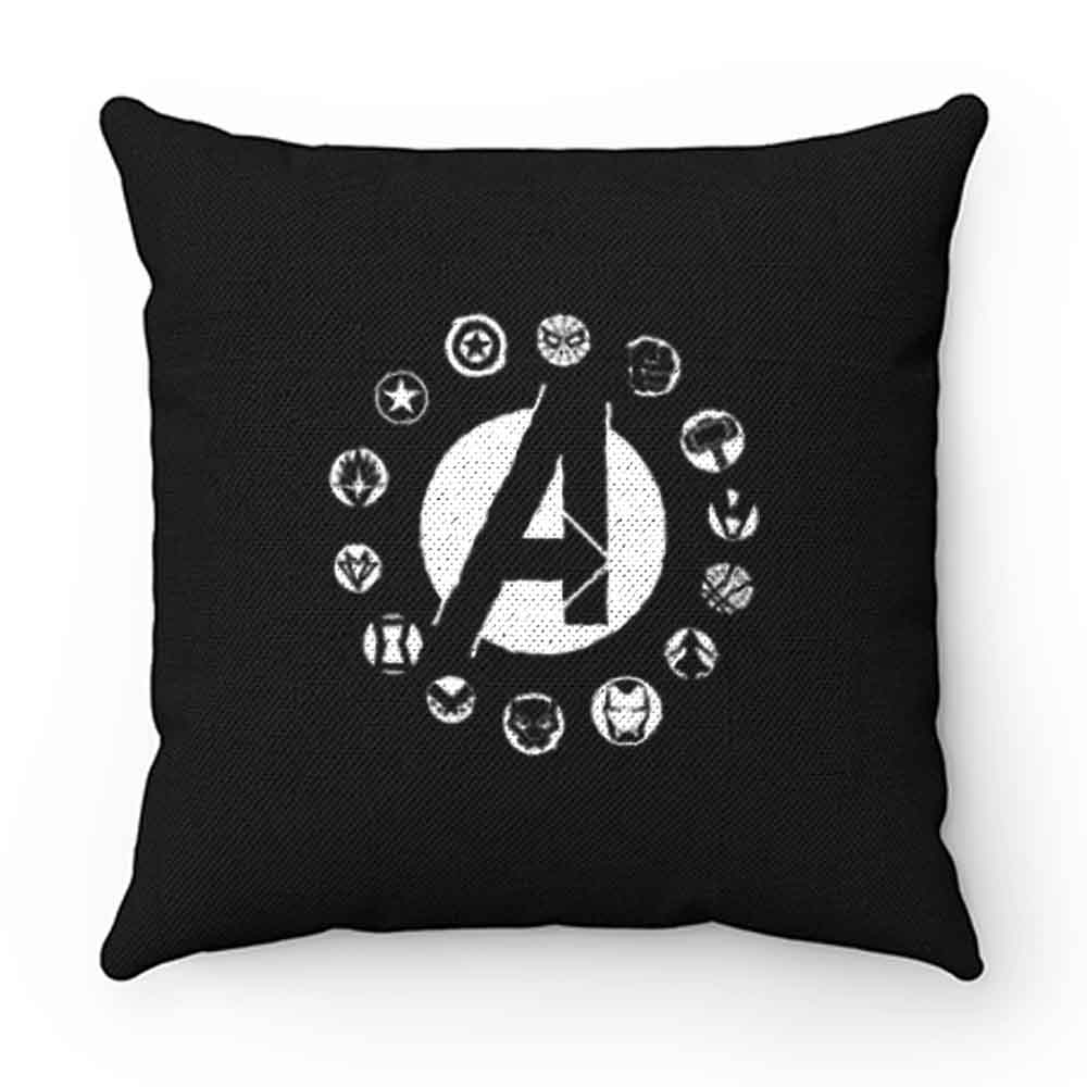 Avengers Superhero Logo Pillow Case Cover
