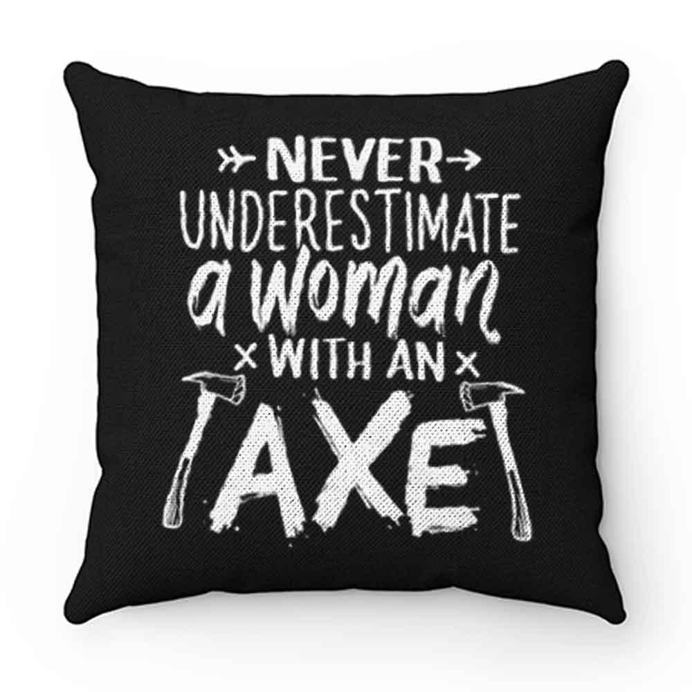 Axe Throwing Lumberjack Pillow Case Cover