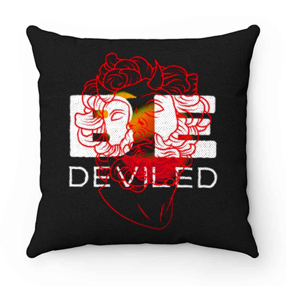 BE DEVILED Featuring Greek Sculpture Pillow Case Cover