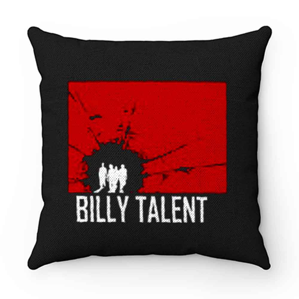 BILLY TALENT Red Square Punk Rock Band Pillow Case Cover