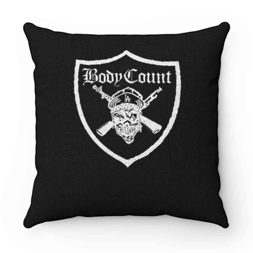 BODY COUNT SYNDICATE ICE T RAPCORE HEAVY METAL CYPRESS HILL Pillow Case Cover