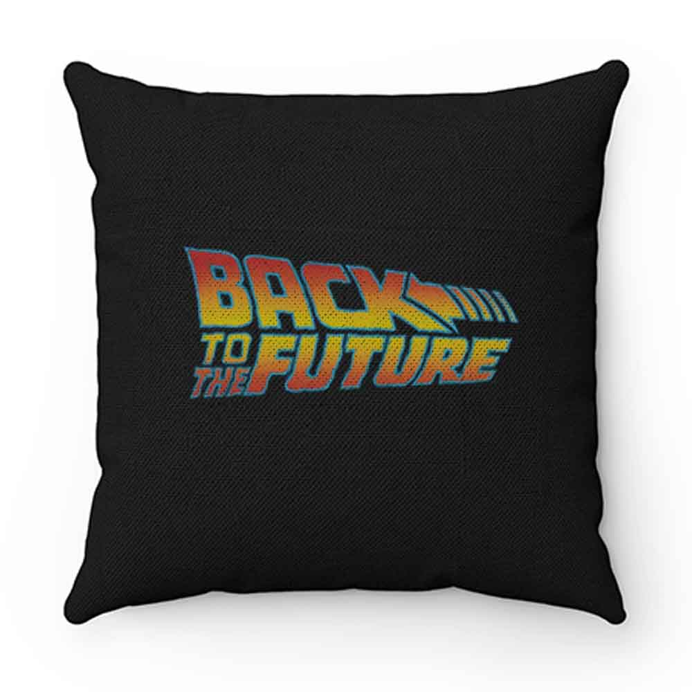 Back To The Future Logo Pillow Case Cover