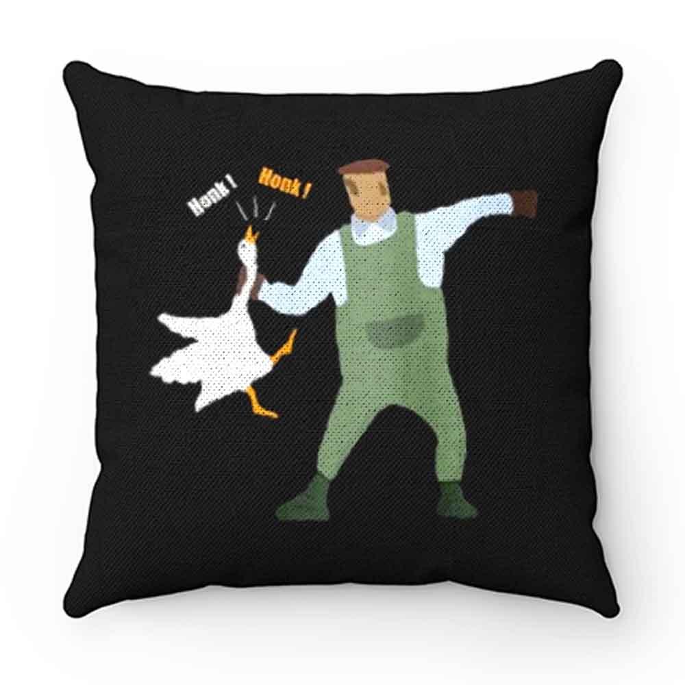 Banksy Hook Swan Honk Honk Pillow Case Cover