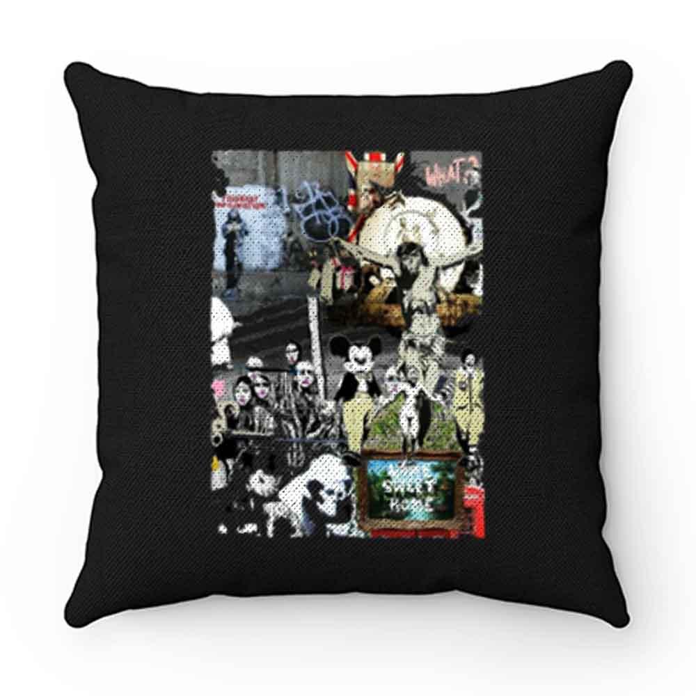 Banksy Street Pillow Case Cover