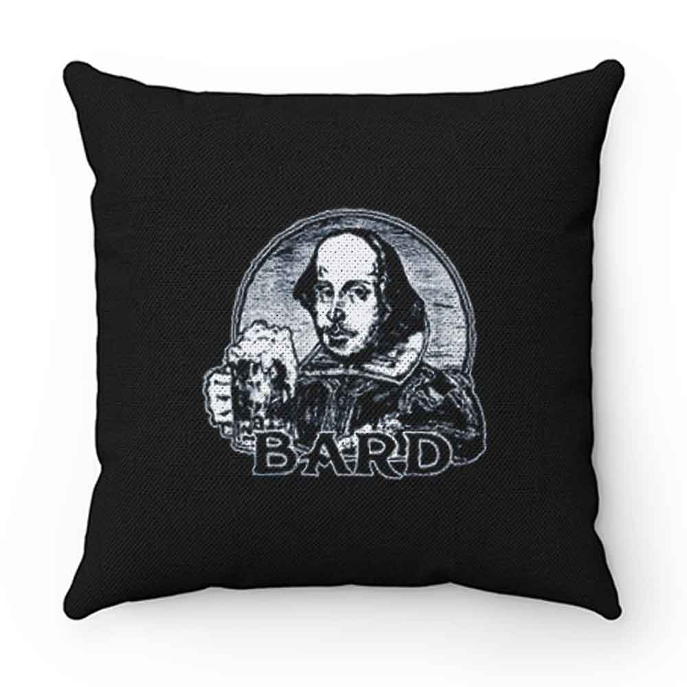 Bard Beer Shakspeare Book Lovers Pillow Case Cover