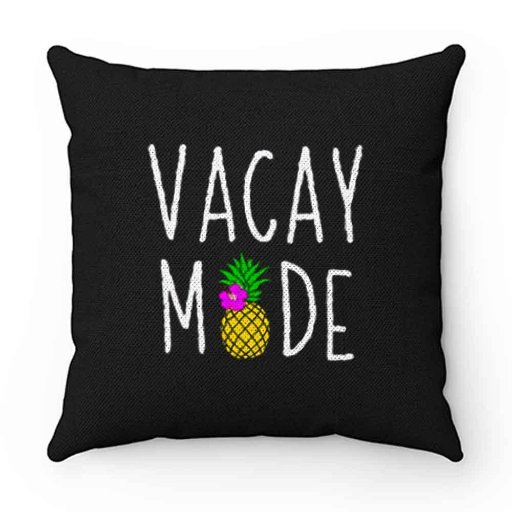 Beaches Vacay Mode Pillow Case Cover