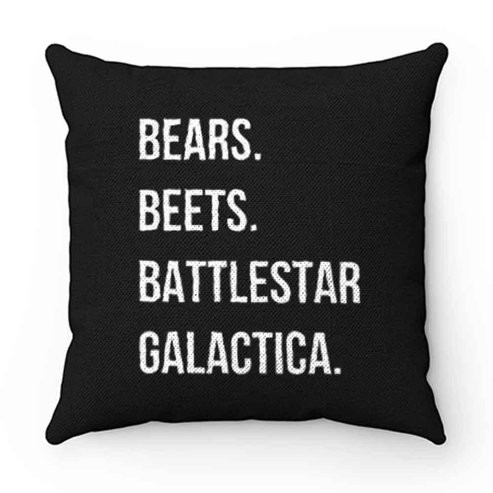 Bears Beets Battlestar Galactica Pillow Case Cover