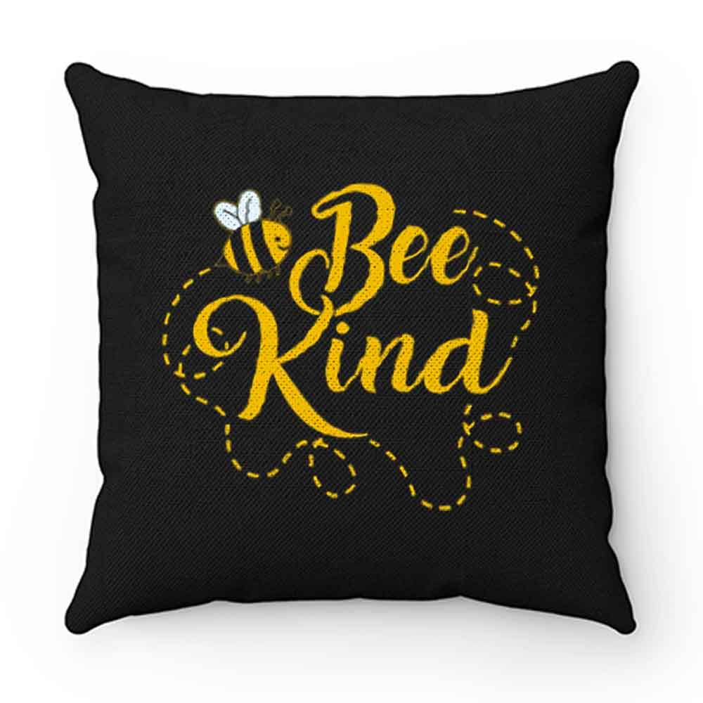 Bee Kind Funny Pillow Case Cover
