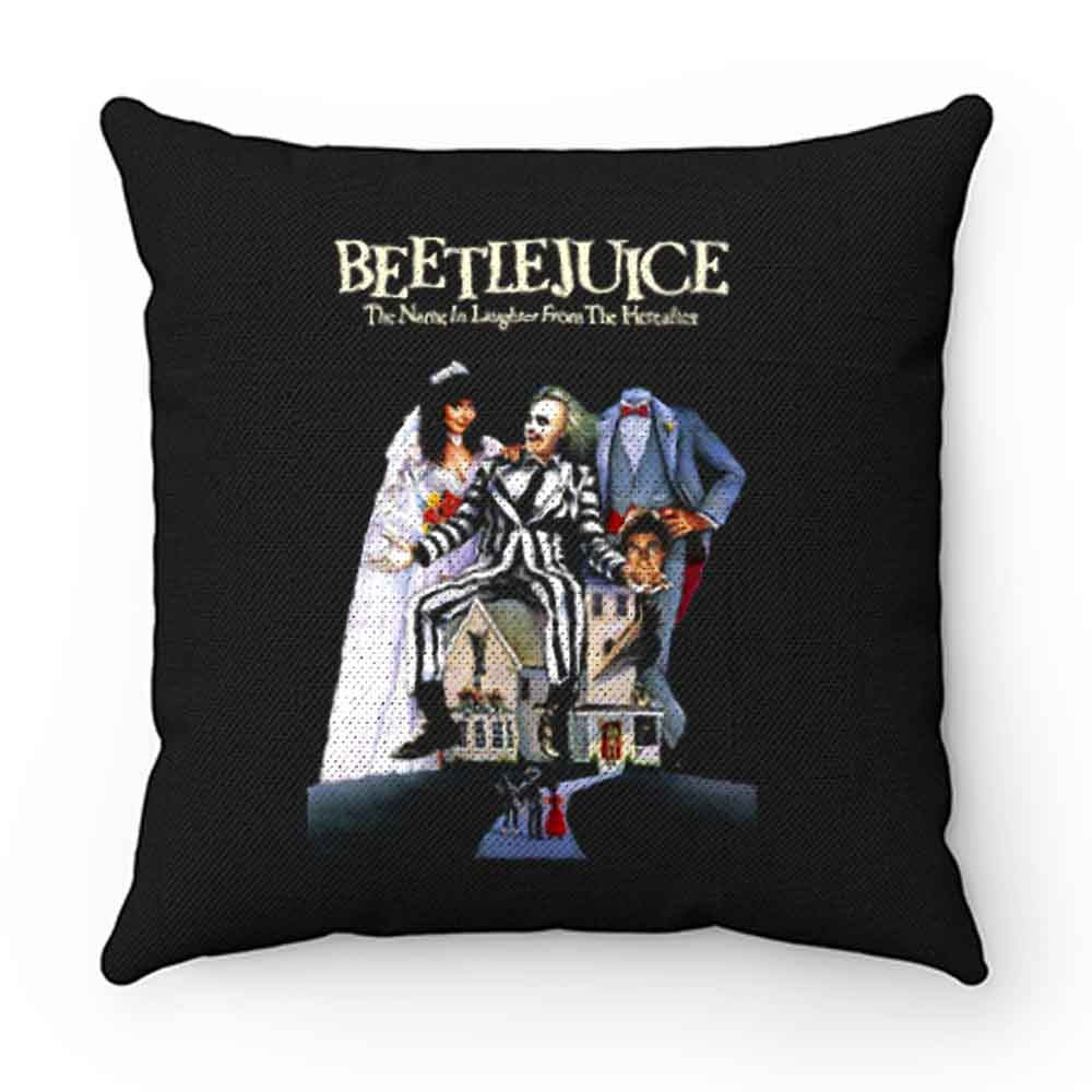Beetlejuice American horror comedy Pillow Case Cover