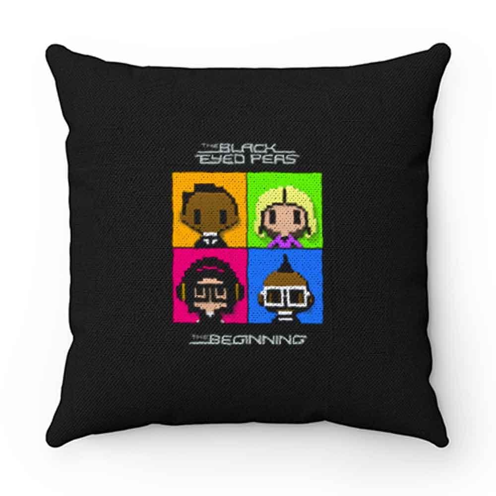 Beginning Black Eyed Peas Craft Pillow Case Cover