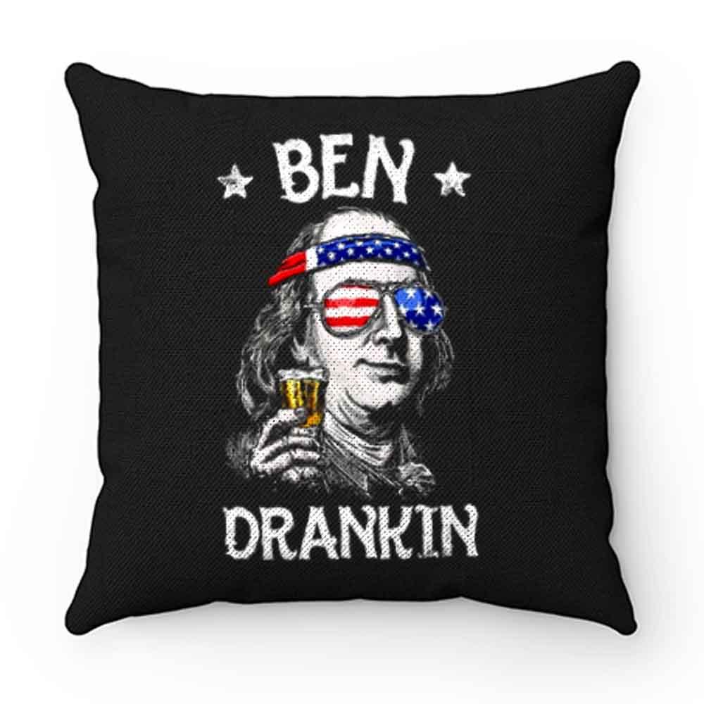 Benjamin Franklin Drinking America Pillow Case Cover