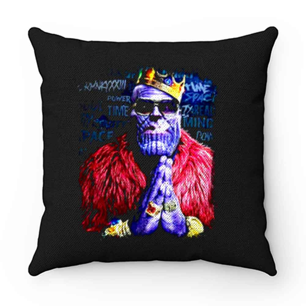 Benthonas Funny Thanos Spoof Marvel Universe Supervillai Pillow Case Cover