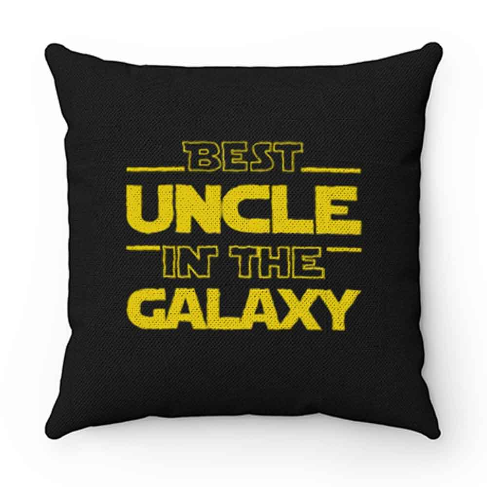 Best Uncle In The Galaxy Pillow Case Cover