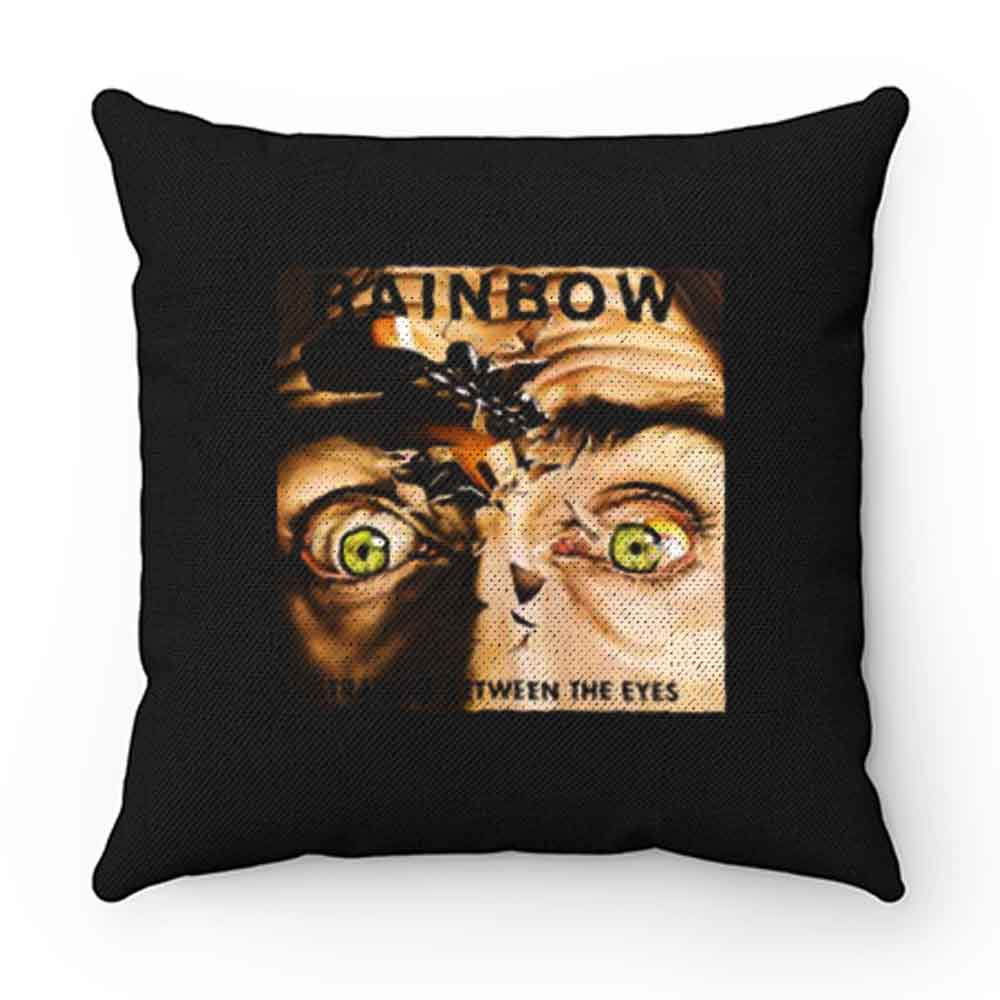 Between Eyes Rainbow Band Pillow Case Cover