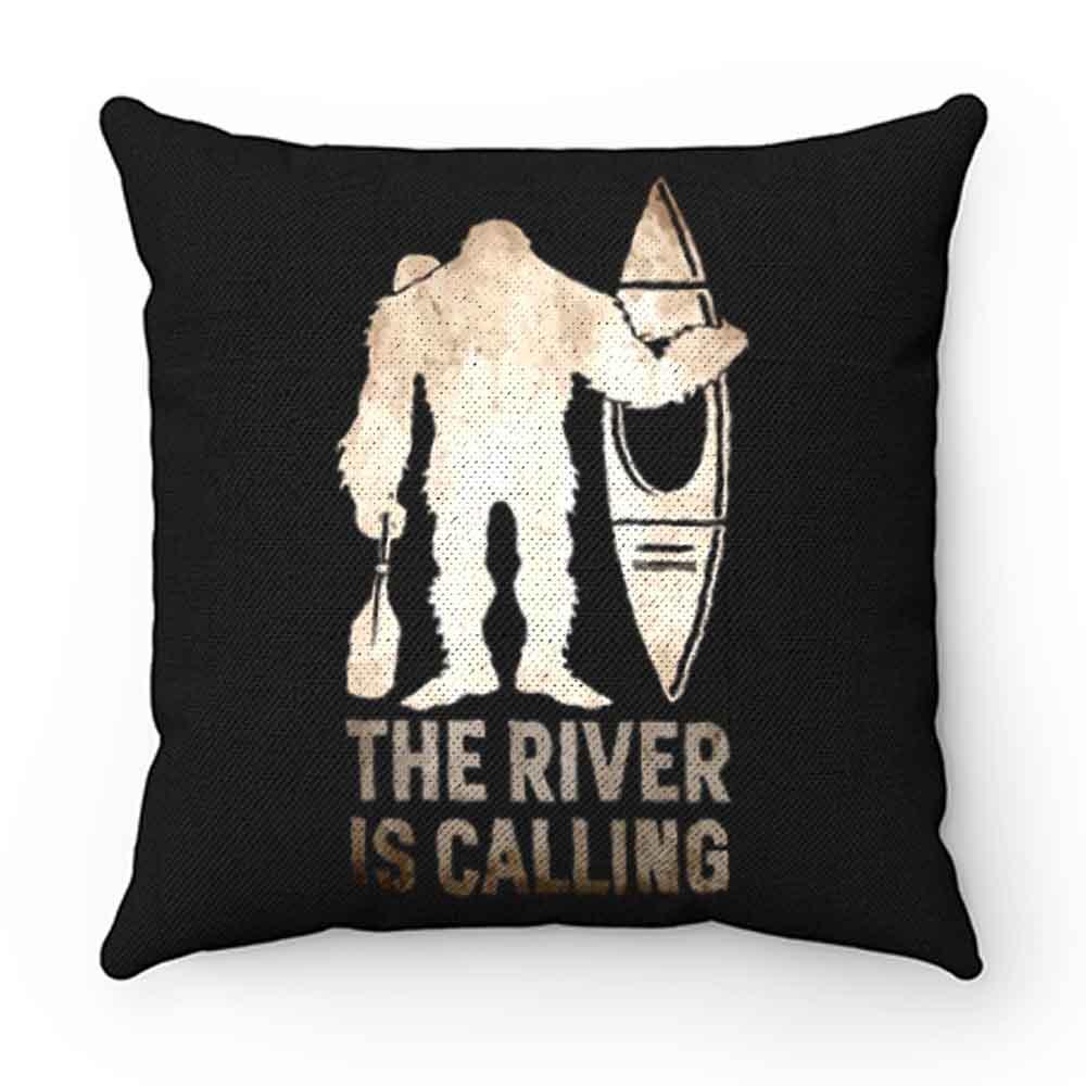 Bigfoot Kayak Sasquatch Pillow Case Cover