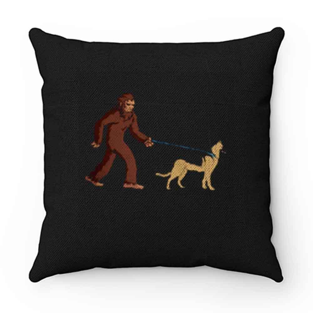 Bigfoot Walking German Shepherd Pillow Case Cover