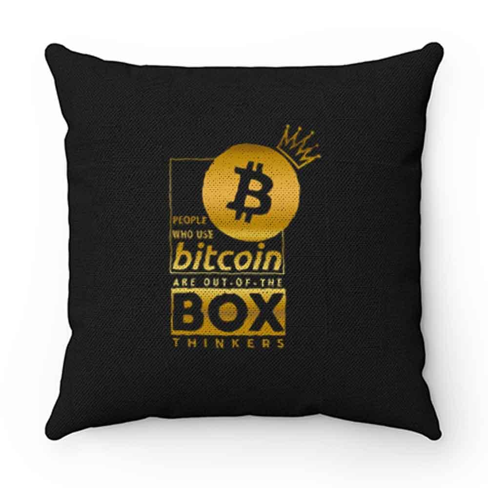 Bit Coin Billionaire Pillow Case Cover