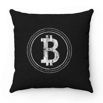 Bitcoin Blockchain Cryptocurrency Electronic Cash Mining Digital Gold Log In Pillow Case Cover