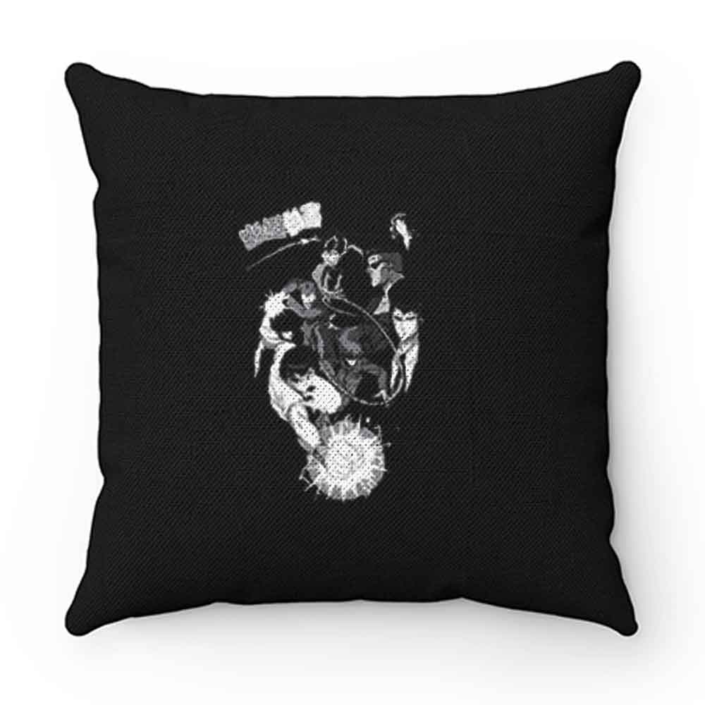 Black And White Yuyu Hakusho Anime Pillow Case Cover