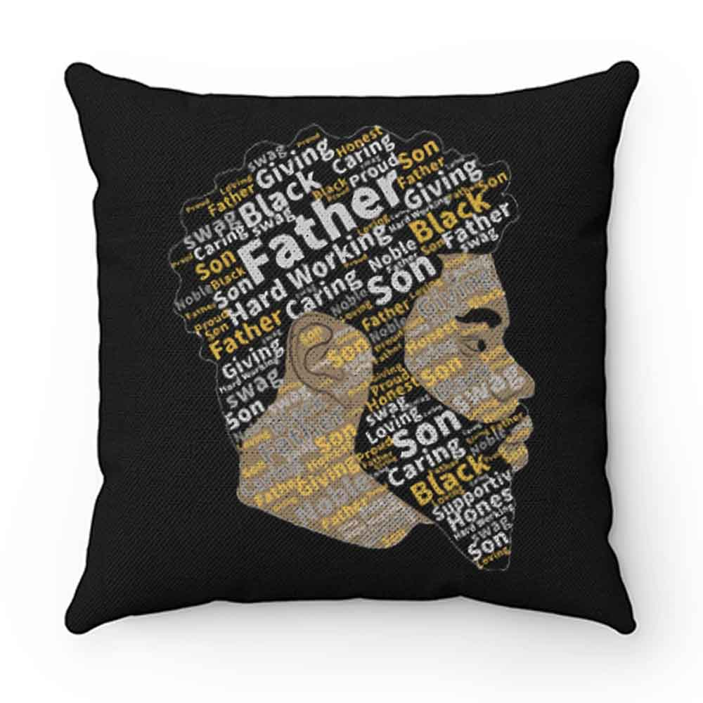 Black Father Black Lives Matter Black Father Mattter Black Dads Pillow Case Cover