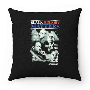 Black History Matters Pillow Case Cover