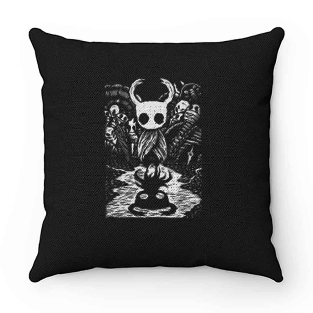 Black Hollow Nights Pillow Case Cover