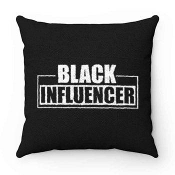 Black Influencer BLM Pride Pillow Case Cover