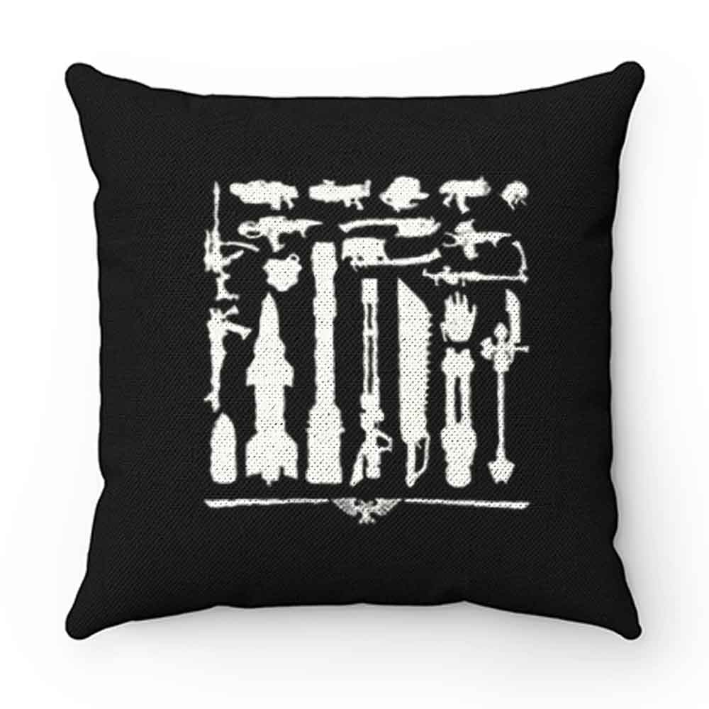 Black Library Pillow Case Cover